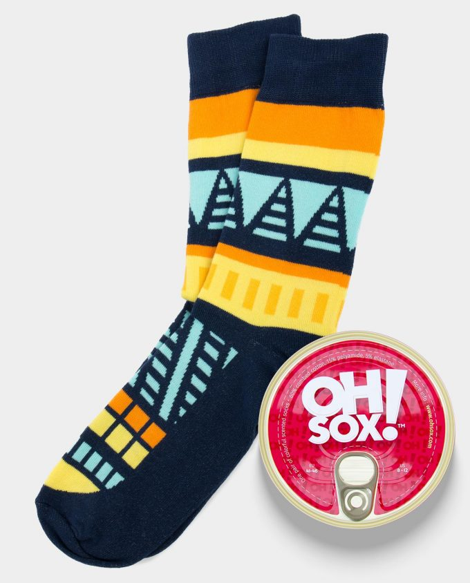 Oh Sox Colorful scented socks From Dusk Till Dawn