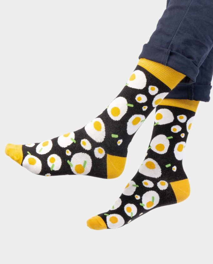 Egg socks on legs, Colorful socks, Scented Socks, OhSox